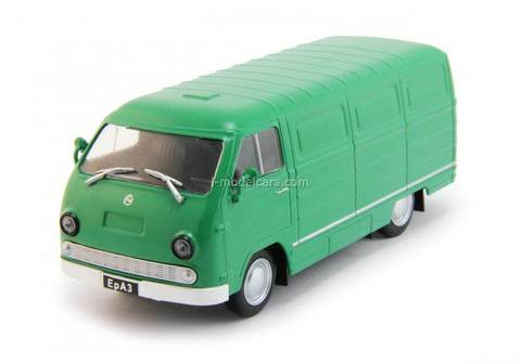 ERAZ-762B green 1:43 DeAgostini Auto Legends USSR Best #68