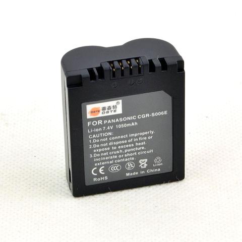 Аккумулятор DMW-BMA7/CGA-S006E батарея для камер Panasonic 1050 Mah