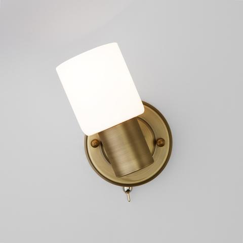 Настенный светильник с поворотным плафоном 20089/1 бронза