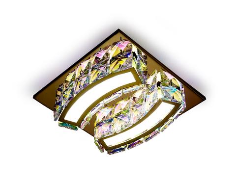Встраиваемый потолочный светодиодный светильник S70 PR/G 4W золото/перламутровый 4200K LED
