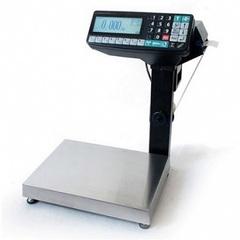 Весы-регистратор с печатью этикетки МАССА МК-32.2-R2P-10