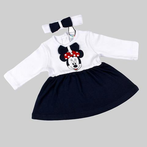 Платье+повязка малышке (68-86) 210403-OP1073.4