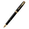 Parker Sonnet Core - Matte Black GT, перьевая ручка, F, BL