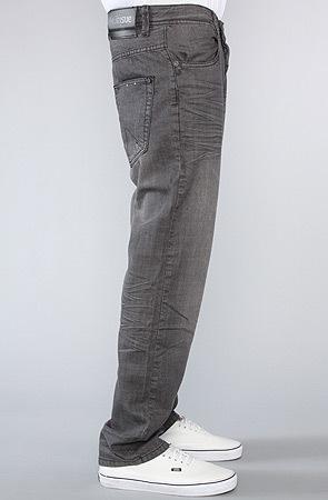 Джинсы серые мужские прямые фото 3