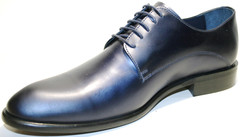 Классические туфли мужские кожаные Luciano Bellini Blue