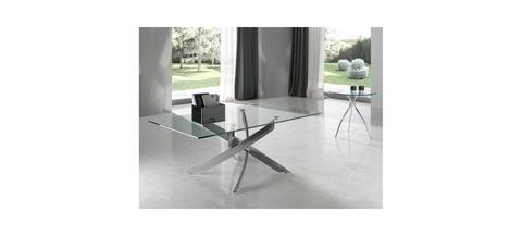 Журнальный столик стеклянный прямоугольный F1143 120x70