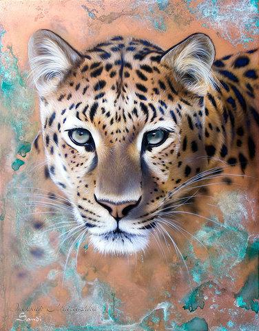 Алмазная Мозаика 30x40 Взгляд тигрицы