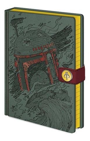 Записная книжка Star Wars - Boba Fett Art