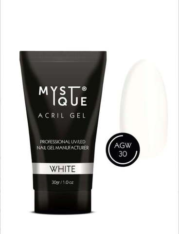 Mystique Акрил-гель «White» 30 г
