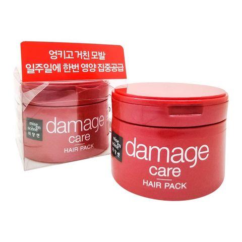 MISE EN SCENE Маска восстанавливающая для поврежденных волос DAMAGE CARE HAIR PACK 150 мл.