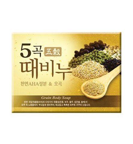 Мыло с эффектом скраба Mukunghwa Scrub Soap Five Grains