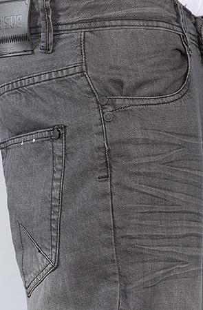 Джинсы серые мужские прямые фото 5