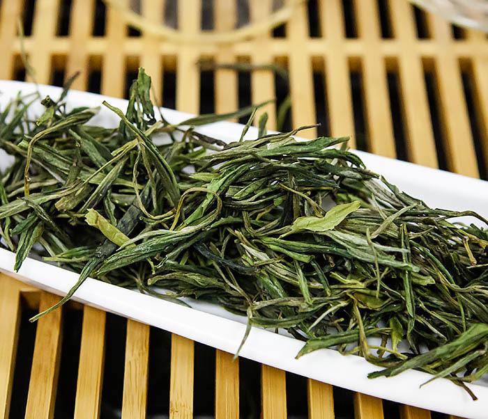 TEA-CH102-2 Зеленый чай «Ворсистые пики с желтой горы» (Хуан Шань Мао Фэн, 50 гр) фото 05