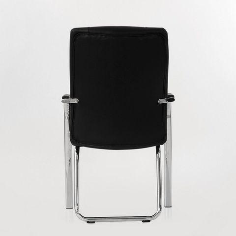 Кресло  для посетителей и переговорных черный