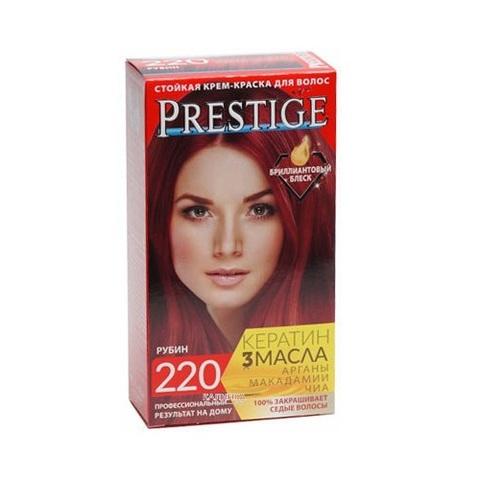 Краска для волос Prestige 220 - Рубин, 50/50 мл.