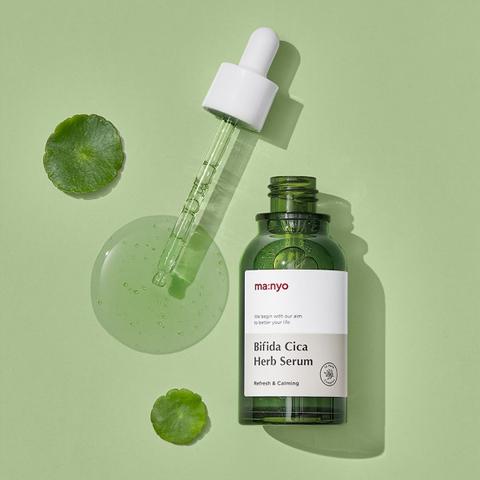 Сыворотка с бифидокомплексом и экстрактом центеллы, 50 мл / Manyo Bifida Cica Herb Serum