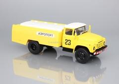 ZIL-130 AS-161 airport yellow 1:43 DeAgostini Auto Legends USSR Trucks #23