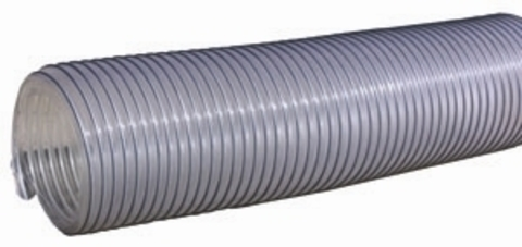 Воздуховод Tex PVC 500, D400 мм (1 метр) из ПВХ (поливинилхлорида)