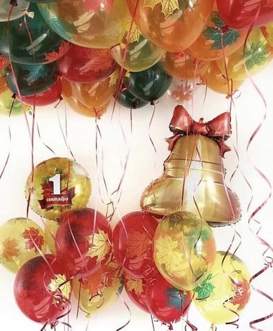 Сет шаров 1 сентября