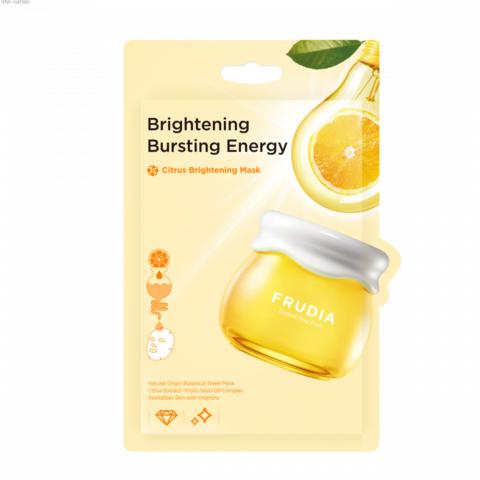 FRUDIA Маска для придания сияния с цитрусом Citrus Brightening  20мл