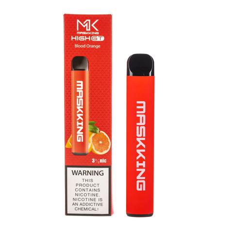 Одноразовая электронная сигарета MASKKING High GT Blood Orange (Апельсин)