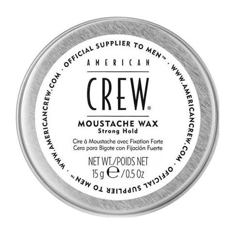 American Crew Beard: Стойкий воск для усов сильной фиксации для укладки и питания волос на лице (Moustache wax), 15г