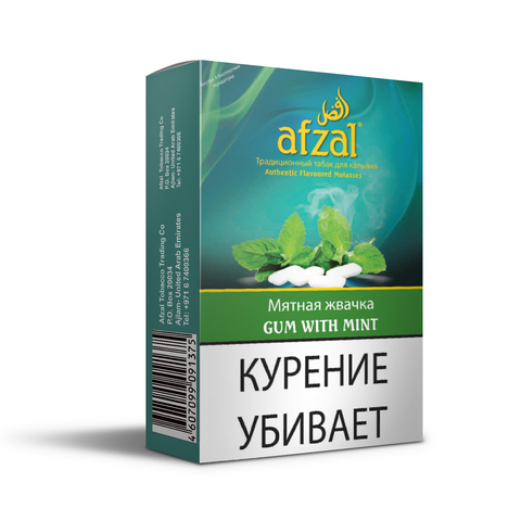 Табак Afzal Gum with Mint 50 г