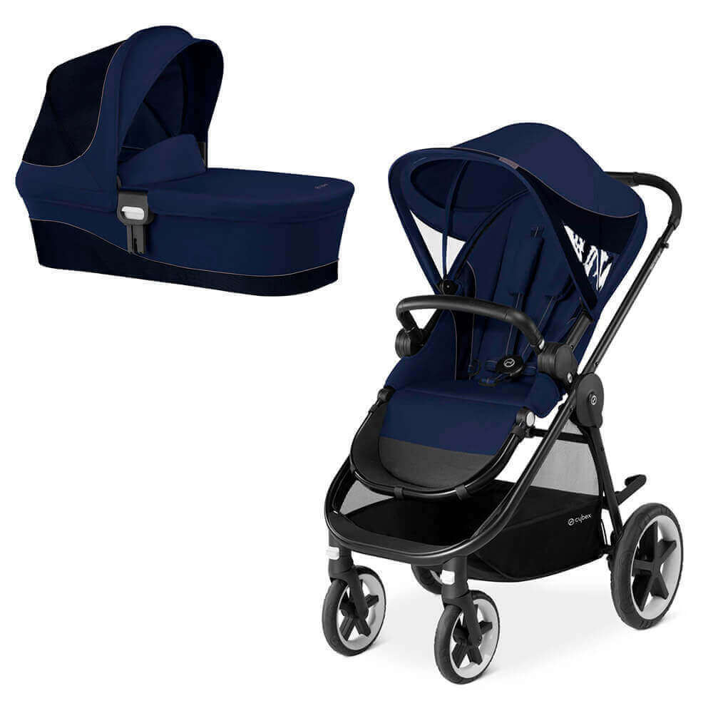 Cybex Balios M 2 в 1, для новорожденных Детская коляска Cybex Balios M 2 в 1  Denim Blue cybex-balios-m-2in1-denim-blue.jpg