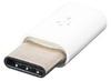 Переходник Micro-USB / Type-C (белый)