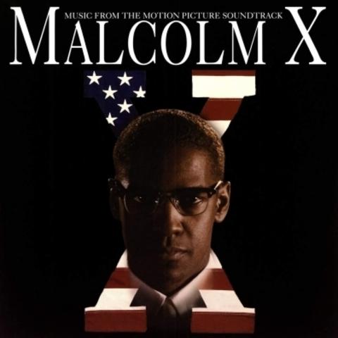 Виниловая пластинка.  Malcolm X Soundtrack. Translucent Red Vinyl