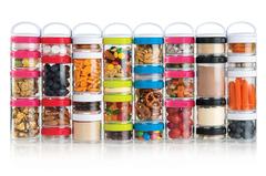Контейнеры Blender Bottle GoStak Starter (4 контейнера) Plum - 2