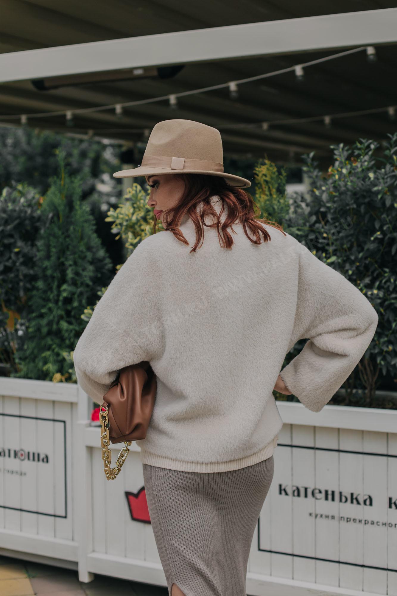 Пальто женское норка