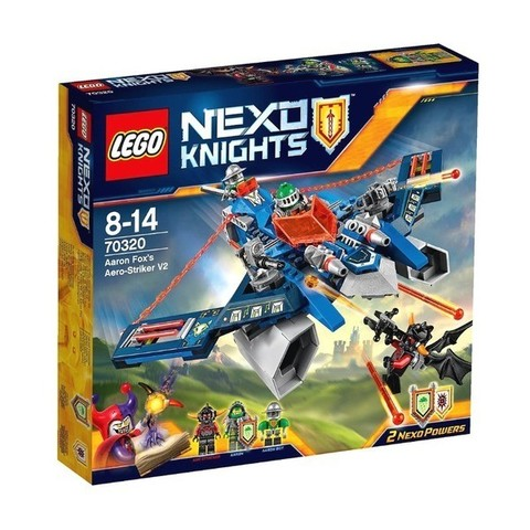 LEGO Nexo Knights: Аэроарбалет Аарона 70320 — Aaron Fox's Aero-Striker V2 — Лего Нексо Рыцари