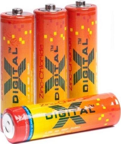 Батарейки X-Digital R03, AAA (4/60/2400)