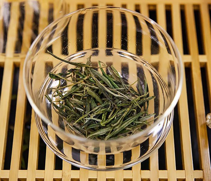 TEA-CH102-2 Зеленый чай «Ворсистые пики с желтой горы» (Хуан Шань Мао Фэн, 50 гр) фото 08