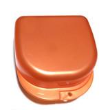 Plastic Box бокс пластиковый, 78*83*45 мм, цвет: красный перламутр