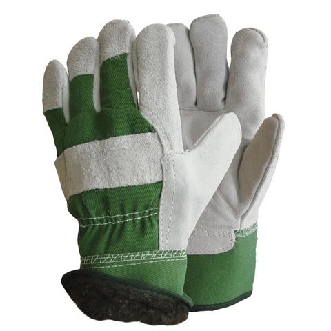 Перчатки Ангара-Люкс спилковые комбинированные утепленные