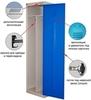 Металлический шкаф для одежды ШРЭК-21-530, Металл-Завод