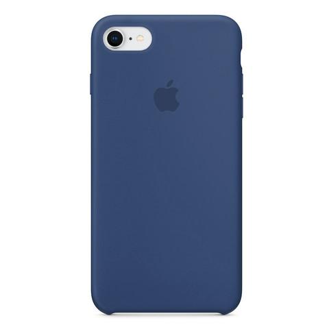Чехол iPhone 7/8 Silicone Case /alaskan blue/ морской лёд 1:1