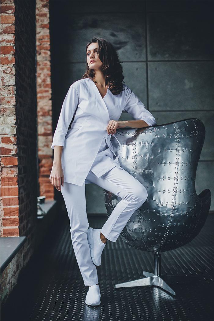 Блуза женская медицинская М 277