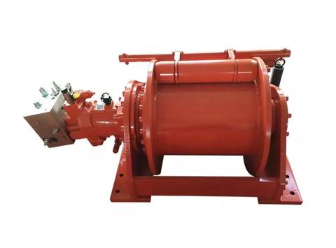 Гидравлическая лебедка IYJ56-160-188-32-ZP для укладки трубопроводов
