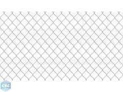 Сетка-рабица d=1,8мм 50х50мм (1,5х10м) оцинкованная
