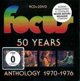 Focus / 50 Years: Anthology 1970-1976 (9CD+2DVD)
