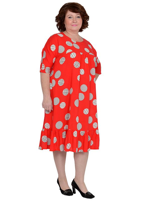 Платье из штапеля Катерина