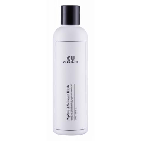 Универсальная пенка для умывания Clean Up Peptino All-In-One Wash 250мл