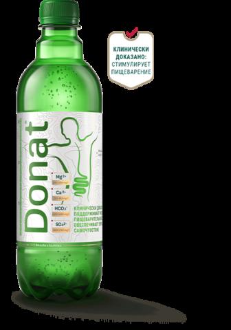 Donat Mg, минеральная магниевая вода питьевая лечебная, 1л