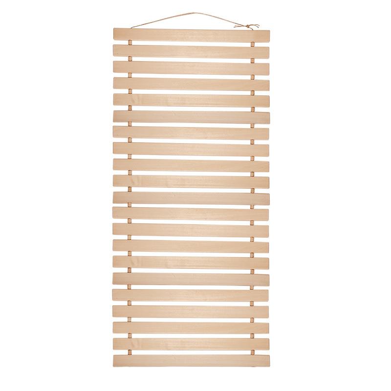Коврик-лежак для бани из липы 0,45*2м.