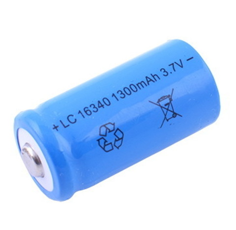 Аккумуляторы 16340 Bailong 1300mAh (Li-ion)