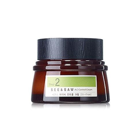 Крем для проблемной и комбинированной кожи The Saem See & Saw A.C Control Cream