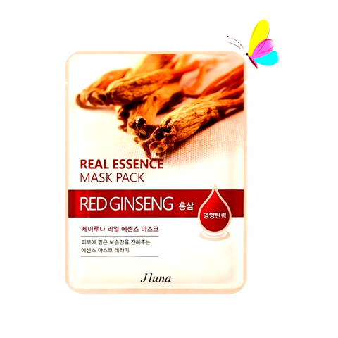 JLuna Real Essence Mask Red Ginseng